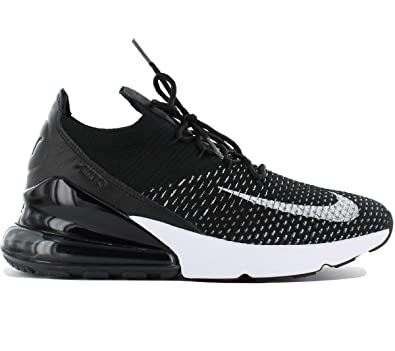Amazon.com | NIKE W Air Max 270 Flyknit Women's Shoes Black ah6803 ...