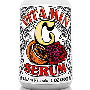 Beauty Shopping Vitamin C Serum for Face – Face Serum with Hyaluronic Acid and Vitamin E, Anti Aging Serum, Reduces Age Spots and Sun…