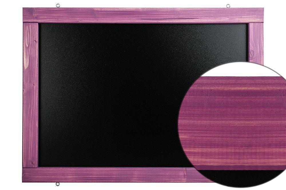 Weidengr/ün, 60x140cm Rustikale Tafel Kreidetafel Wandtafel K/üchentafel mit Holzrahmen zur Beschriftung mit Kreide im Landhausstil in verschiedenen Gr/ö/ßen und Farben