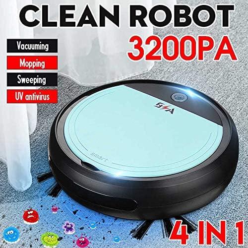 Unitedheart Lazy Man Hogares Robot de Barrido autom/ático Limpiador de direcci/ón autom/ática Modelo de Carga Aspirador de Carga Inteligente-Blanco