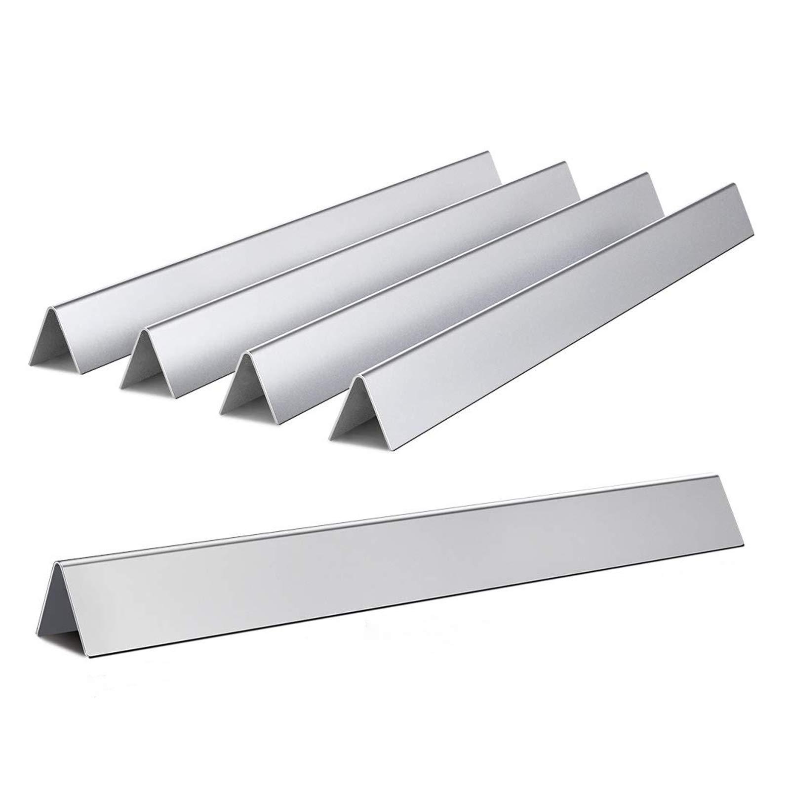 SHINESTAR 7536 22.5 inch Flavorizer Bars for Weber Spirit 300, E310, E320, Genesis Silver B/C, Genesis Gold Series Gas Grills, Stainless Steel Flavor Bars for Weber 7537, 65903, 5 Pack