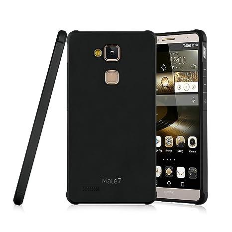 Hevaka Blade Huawei Mate 7 Hülle - TPU SchutzHülle Tasche Case Cover für Huawei Mate 7 - Schwarz