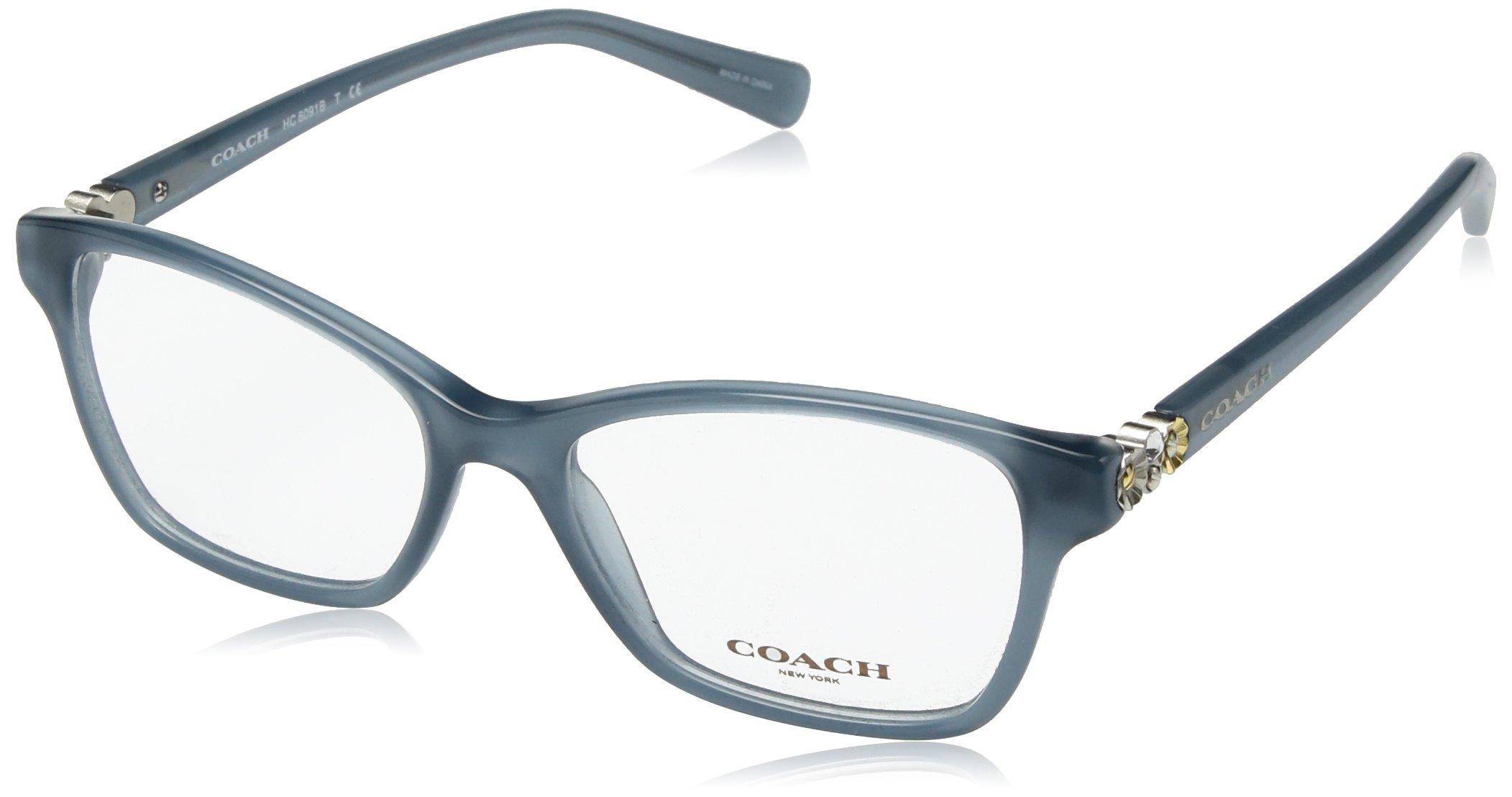 COACH Women's 0HC6091B Milky Blue One Size