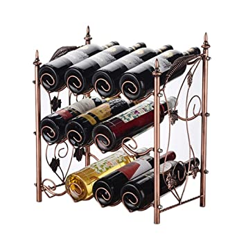 Amazoncom Wine Rack Wine Rack Rack Wrought Iron Wine Rack Home