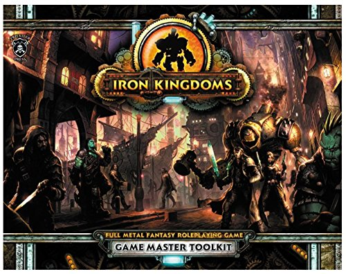 Privateer Press Iron Kingdoms Unleashed Game Master Toolkit