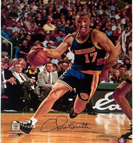 Chris Mullin Drive to Basket Right Handed Vertical 16x20 Photo (Derek Jeter Gift Baskets)
