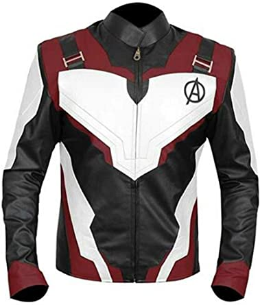 F/&H Kids Captain America Winter Soldier Genuine Leather Jacket