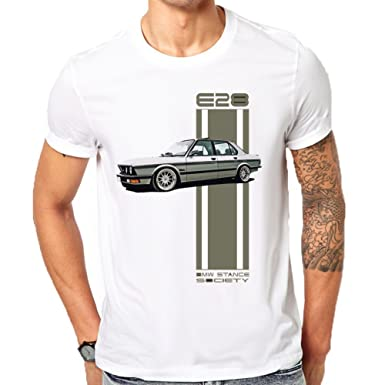 absolut stilvoll Sortenstile von 2019 suchen BMW E28 T-Shirt Men's Classic T-Shirt: Amazon.co.uk: Clothing