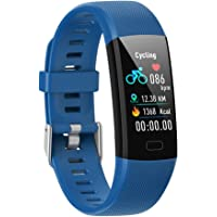 XIAJIE Fitness Tracker Reloj Deportivo Impermeable Pulsera Inteligente Podómetro Fitness Reloj con Frecuencia Cardíaca/Monitor de Sueño/Oxígeno Sangre Saturación Medición para Mujeres y Hombres