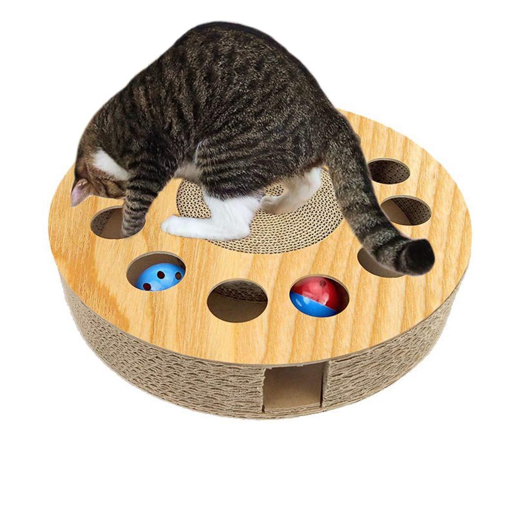 Legendog Cat Toy Wooden Interactive Funny Kitten Toys Cat Teaser Toys
