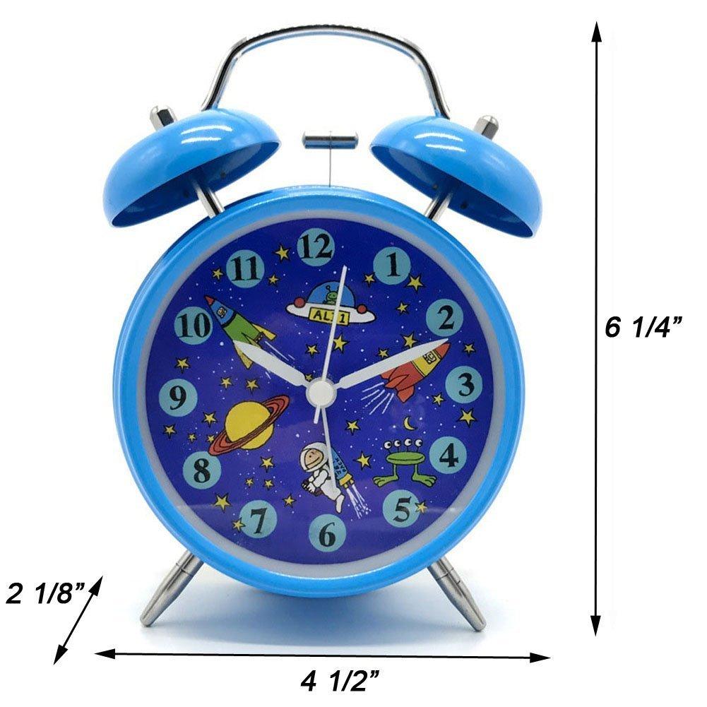 Para niños de reloj despertador, yatow 4