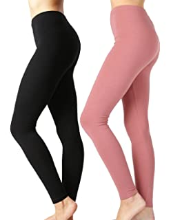 8024154aa4 Zenana Outfitters JKC USA Selected Premium Cotton Full Length Solid Color  Leggings Various Colors OP-