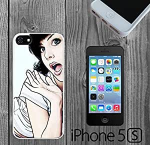 Cute Girl OMG Custom made Case/Cover/skin FOR iPhone 5/5s