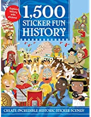 1,500 Sticker Fun History