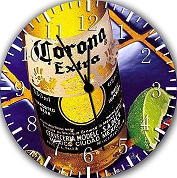 Borderless Corona Extra Beer Frameless Wall Clock