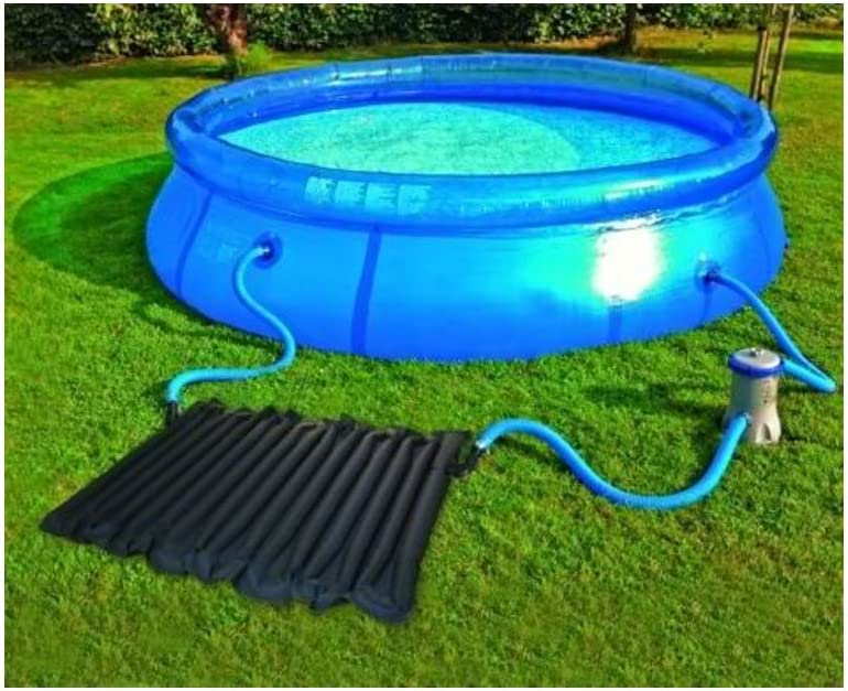2 Pcs Solar Swimming Pool Water Heater Heating Coil Panel Pad 47 X 80 Cm Amazon De Garten