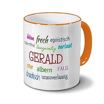Tasse mit Namen Gerald Positive Eigenschaften