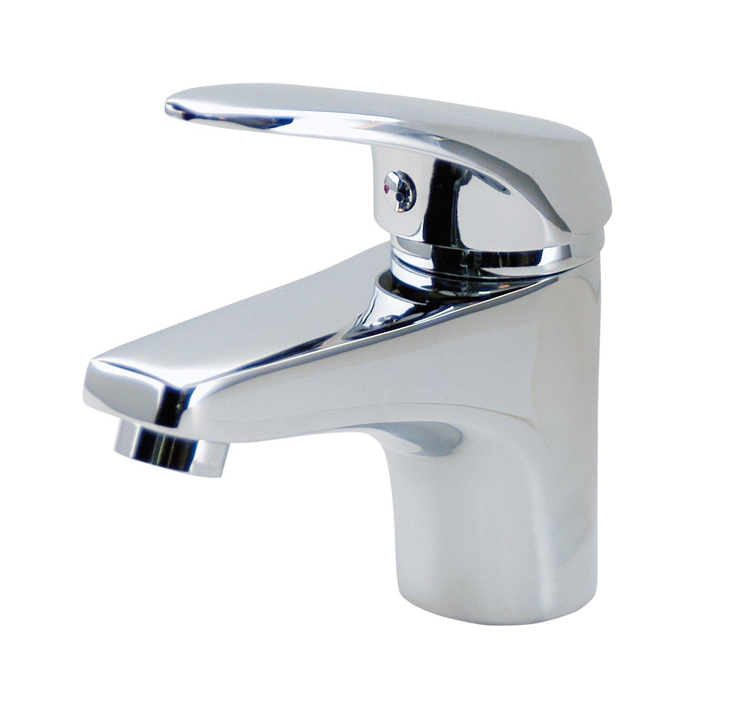 Plateado DP Grifer/ía SCER-0001 Grifo de lavabo monomando serie Sauce