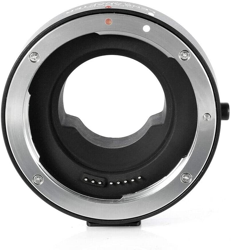 Olympus OM-D E-M1 M5 M10//E-PL8 7 6 5 Fotga Electronic Aperture Control Auto Focus AF Adapter Ring for Canon EOS EF EF-S Lens to M4//3 Micro 4//3 Camera Panasonic GH5 4 3 2 1