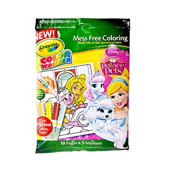 color wonderdisney princess enchanted coloring book and markers style may vary