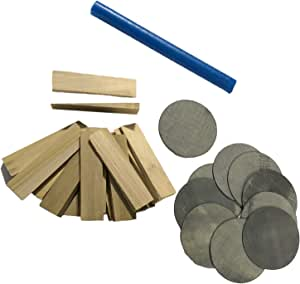 Amazon Com Db Entertainment Company Pool Table Installation Shim And Wax Kit For Leveling Install Or Recovery And Refelting Sports Outdoors