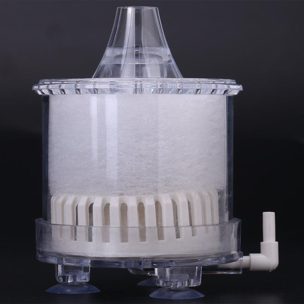 Wuqiong Mini Pescado Tanque de ox/ígeno del Aire de la Bomba Mini Acuario de ox/ígeno Quakeproof Oxigenador Bomba silenciosa aireador