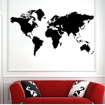 Czxmp Venta Caliente Mapa Del Mundo Grande Atlas Global Vinilo ...