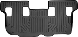 MAXLINER Floor Mats 3rd Row Liner Black for 2007-2017 Ford Expedition/Lincoln Navigator (with 2nd Row Bench Seat Or Console) (No EL or L Models)