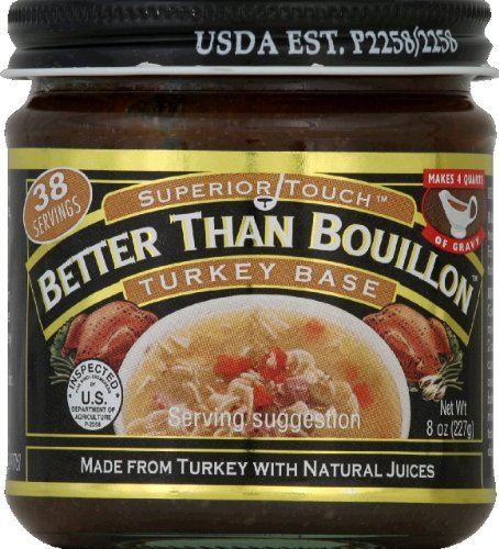 Better Than Bouillon Base, Turkey, 8 Ounce ()
