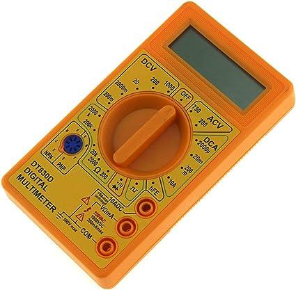 Tree On Life Dt 830d Mini Pocket Digital Multimeter 1999 Zählt Ac Dc Volt Amp Ohm Diode Hfe Durchgangsprüfer Amperemeter Voltmeter Ohmmeter Küche Haushalt