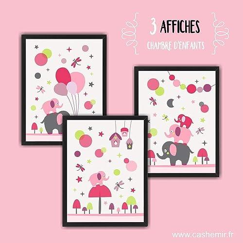 Affiche chambre bébé fille décoration chambre bébé déco ...