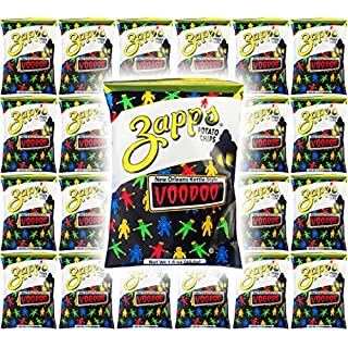 Zapp's Potato Chips, VooDoo New Orleans Kettle Style, 1.5oz (Pack of 24, Total of 36 Oz)