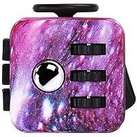 Pachock Galaxy Fidget Toy Cube Toy with Click Ball - Anti-anxiety Anti-Stress Fidget Toys