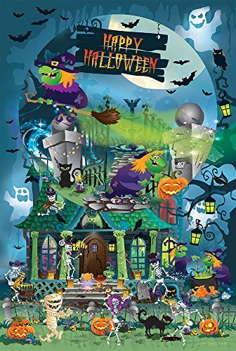 Trick or Treat for All Ages - Happy Halloween - Family 625 Piece Jigsaw Puzzle by SunsOut (Halloween Skeleton Puzzle)
