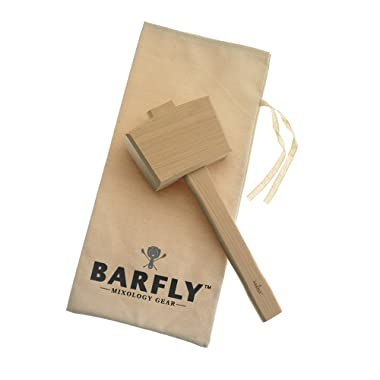 Barfly M37104 Ice Mallet and Bag, Tan