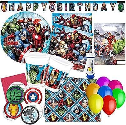 Procos, doriantrade Mighty Avengers Fiesta de cumpleaños de ...