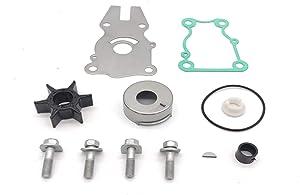 TMTMSP Water Pump Impeller Repair Kit for Yamaha Outboard 40-50-60 HP Replacement 63D-W0078-01 Sierra 18-3434