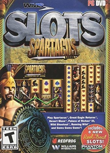 Amazon Com Wms Slots Spartacus Pc Video Games