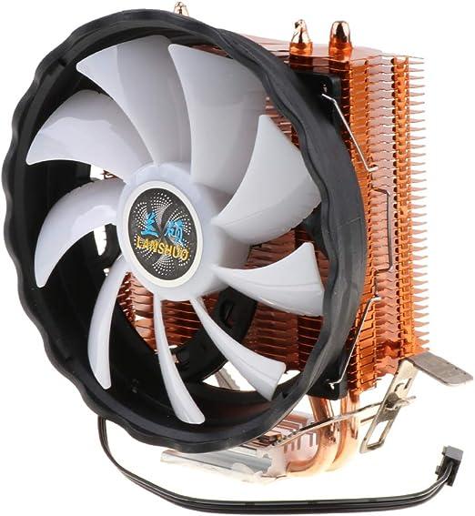 non-brand Refrigerador Silencioso De La CPU del Alambre LED del ...