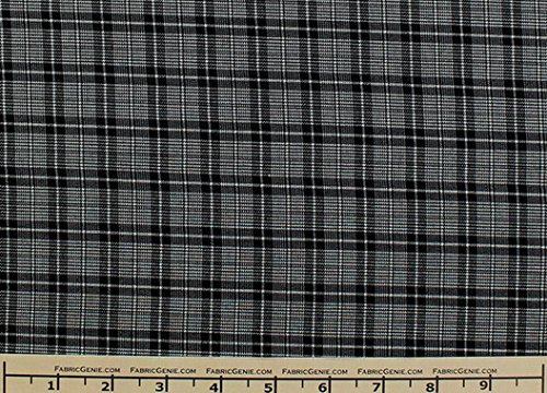 carnegie-plaid-plaid-suiting-fabric-stretch-suiting-fabric-white-black-2-yards-bolt