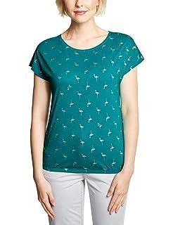 099912877e57e1 Cecil Damen Langarmshirt: Amazon.de: Bekleidung