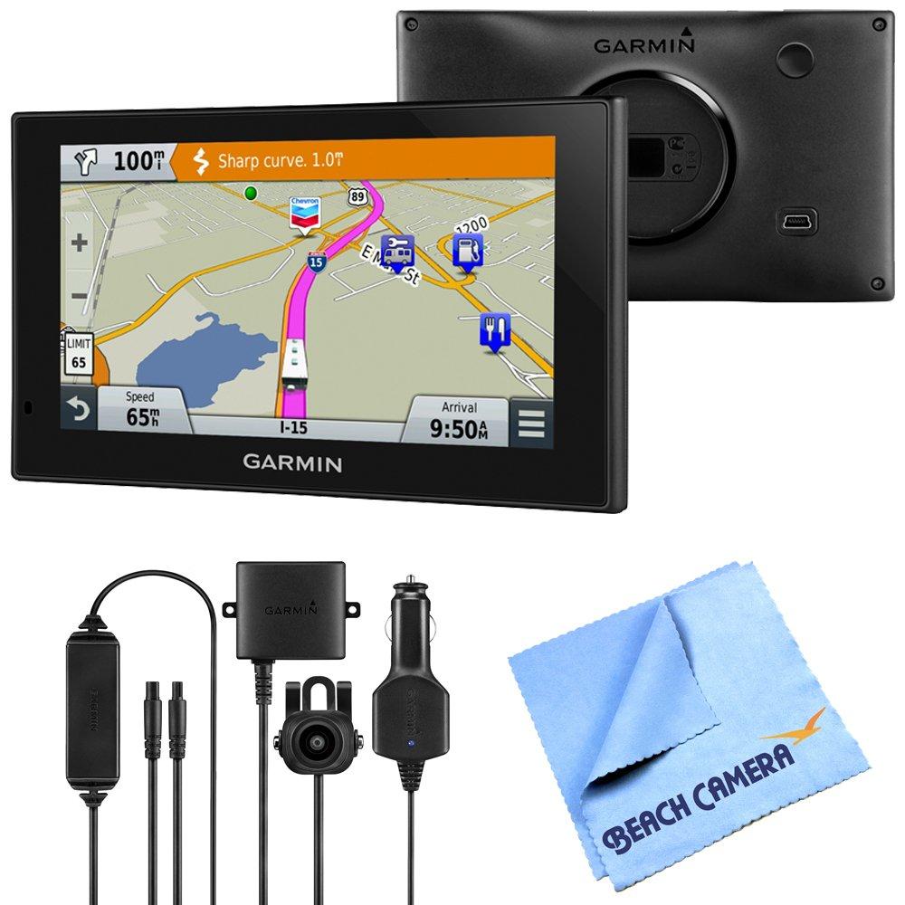Garmin 010-01535-00 RV 660LMT Automotive GPS Wireless Backup Camera Bundle includes Garmin RV 660LMT GPS, BC 30 Wireless Backup Camera and Beach Camera Microfiber Cloth by Beach Camera