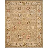 Cheap Safavieh Antiquities Collection AT859B Handmade Traditional Oriental Taupe and Beige Wool Area Rug (9′ 6″ x 13′ 6″)