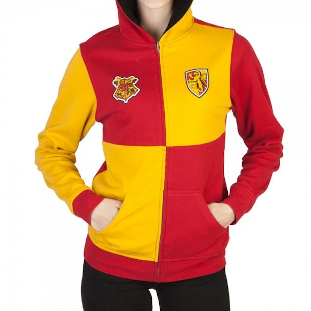 Harry Potter Gryffindor Juniors Reversible Hoodie Bioworld