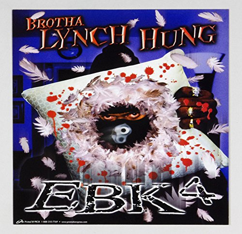 Brotha Lynch Hung Poster Flat EBK4 2000 Vintage 12x12 Album Promo 2 sided