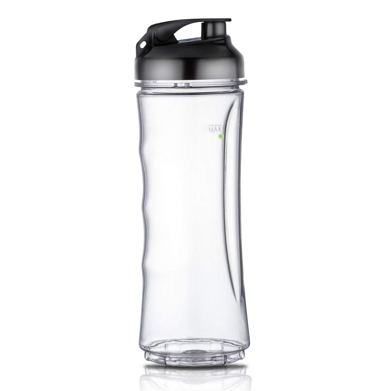 18 oz BPA Free Portable Sports Bottle Cup with Travel Lid Fits La Reveuse 300w Blender