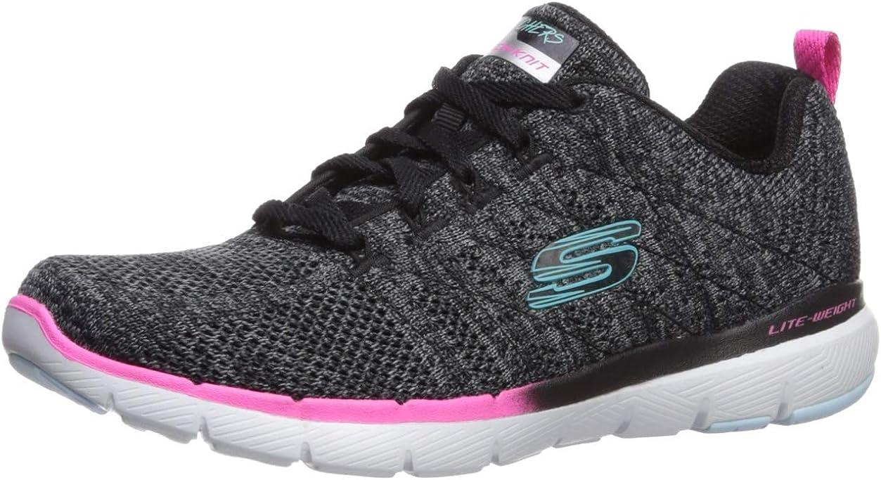 Skechers Flex Appeal 3.0-Reinall, Zapatillas para Mujer