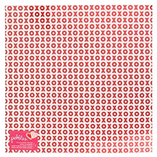 Page Alphabet Pebbles (Pebbles 733949 Red Foil Paper, Multicolor)