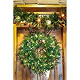 Village Lighting Antler Adjustable Wreath Hanger
