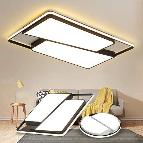 lámparas de techo redondo/cuadrado LED para el salón ...